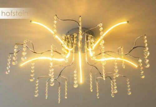 dekorativ loftslampe