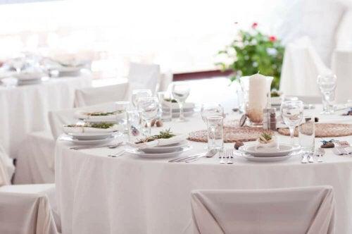 formel borddækning