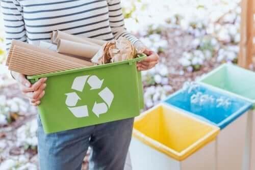 Originale idéer til genbrugsbeholdere: bliv grøn!