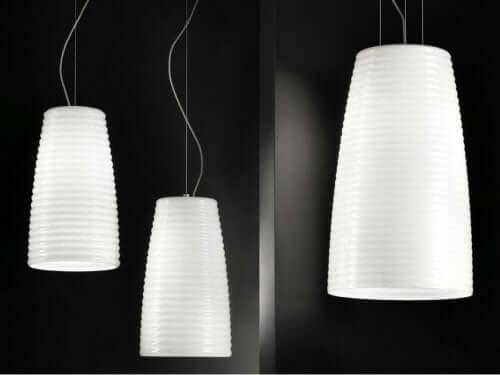 hvide lamper