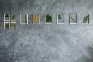 vægkunst med små stykker