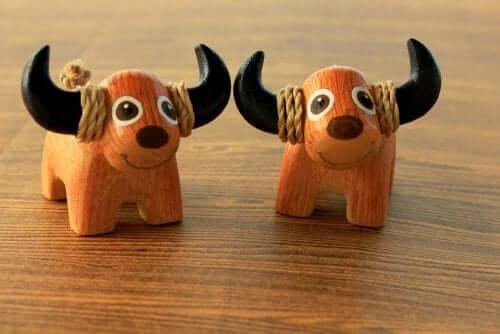 4 nemme trin til at lave søde dyr af træ