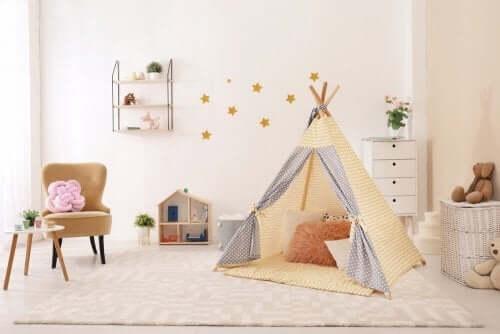 Montessori soveværelse - design et til dit barn