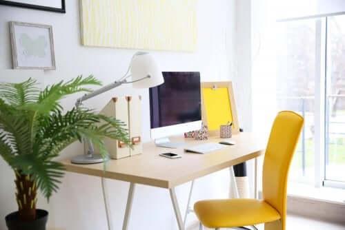 Arbejde hjemmefra? Design dit eget hjemmekontor