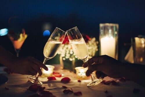 Forbered en romantisk middag