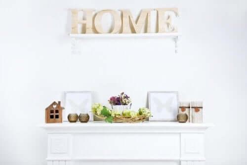 Hurtig og simpel måde at dekorere dit hjem på