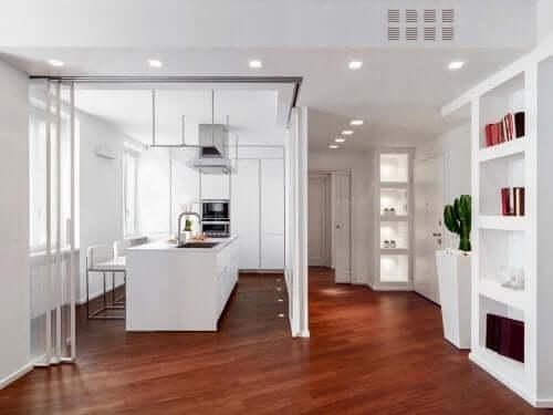 Skydedøre til at modernisere dit køkken