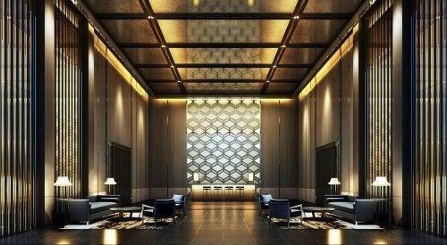 Sådan indretter du den helt perfekte hotellobby