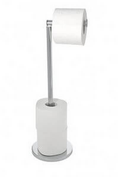 Toiletrulleholdere lavet af metal er meget simple
