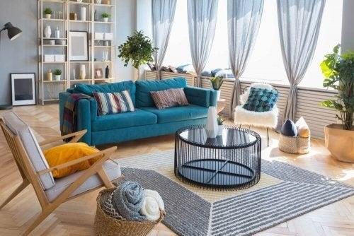 Afslapningsområder i hjemmet: 5 originale idéer