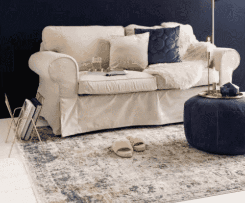 Gulvtæpper i vintage stil - et glimt til fortiden