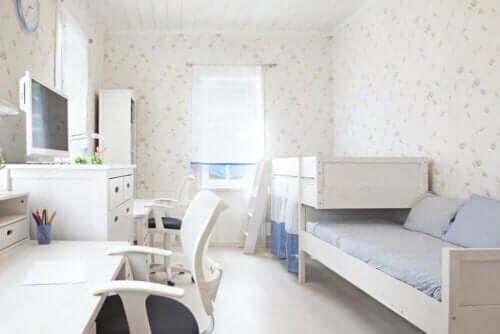 Få det meste ud af dine børns værelser
