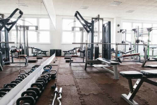 at indrette et fitnesscenter som dette, kræver meget planlægning