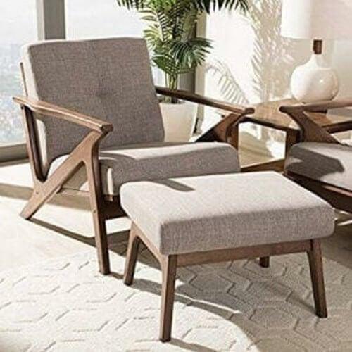 Lænestole og fodskamler skaber bedre komfort