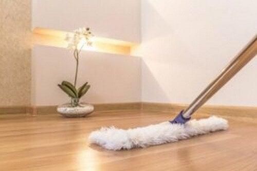 Tips til hurtig rengøring