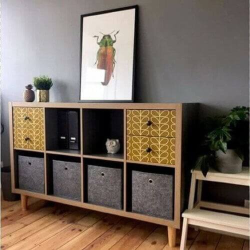 Hjemmelavede dekorationsidéer med IKEA-møbler