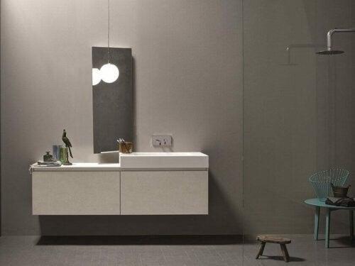 Moderne vaskeskabe til badeværelset