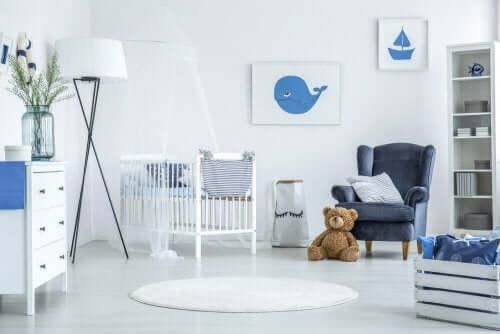 Gode idéer til en nautisk indretning på børneværelset