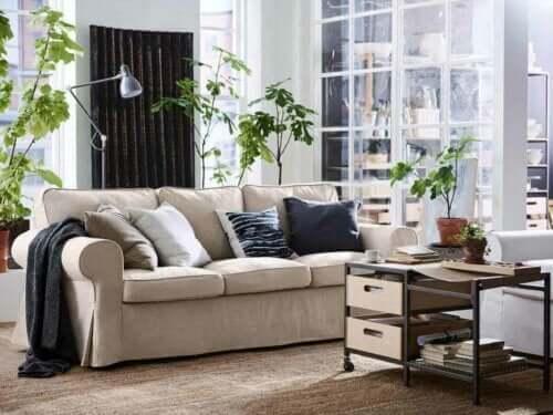 stue med planter