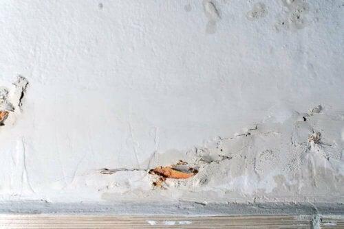 Vægskader i hjemmet