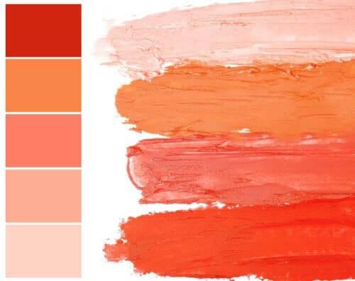 Laksefarvet – en farve med varme og elegance