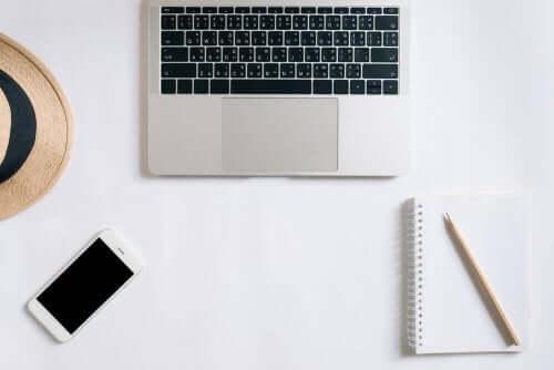 En computer kan bruges som en pyntegenstand