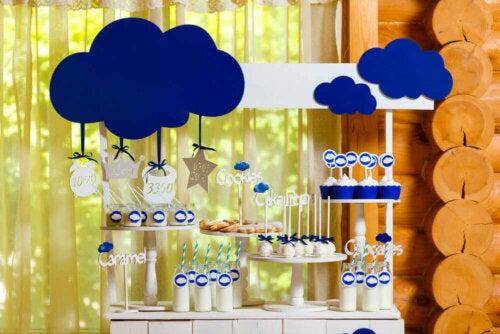 dekoration til barnedåb