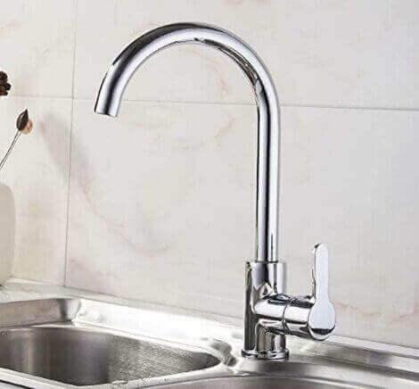 køkkenvask i rustfrit stål