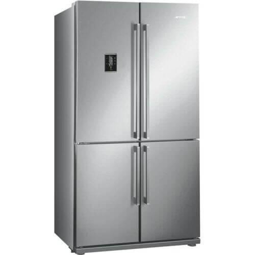 Køleskab i rustfrit stål