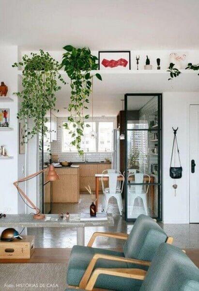 Planter nær loftet