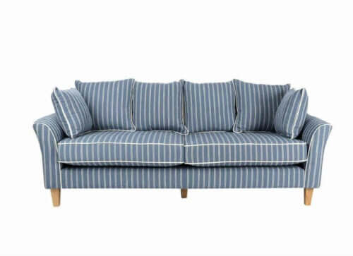 stribet sofa