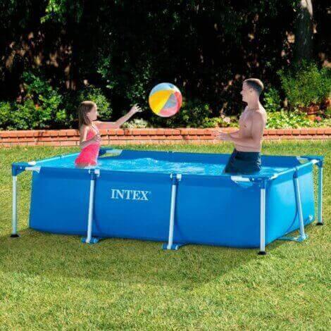 transportable pools er også en mulighed til haven