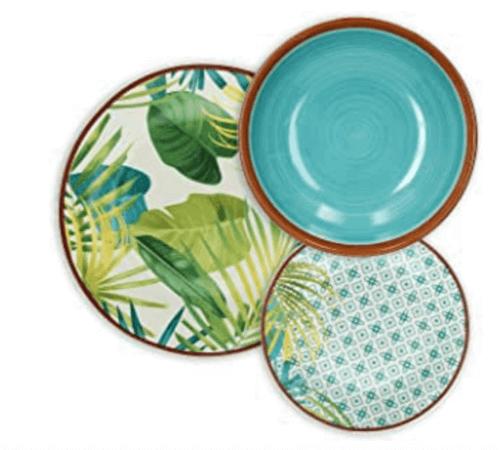 Tropiske tallerkener til din spisestue