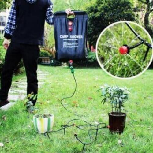 Drypvandingssystem til at vande planter