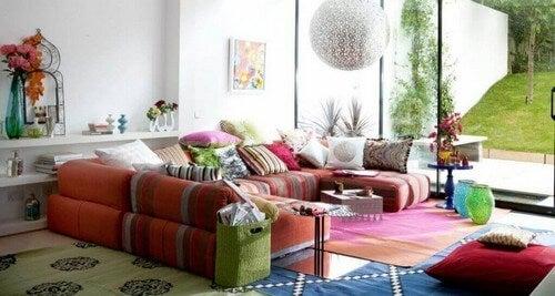 Stue i indisk stil