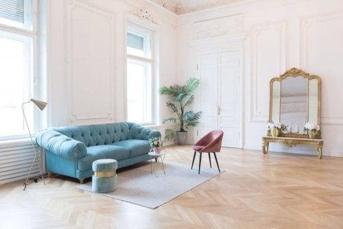 Sådan opnår du en parisisk boligindretning