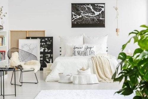Soveværelse i nordisk stil for teenagere