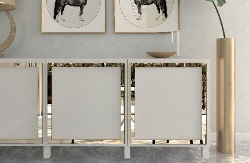 Idéer til at udsmykke møbler med tapet