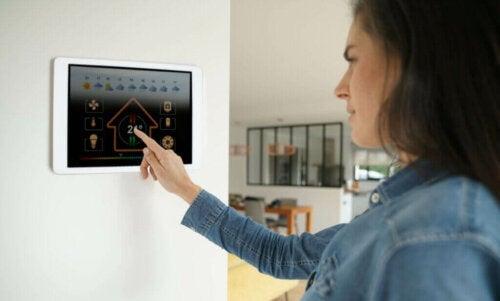 Du er i kontrol med en termostat på husholdningsapparater