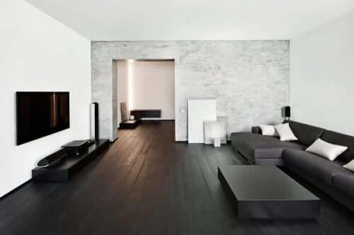 Sorte rum - De forskellige stile og trends