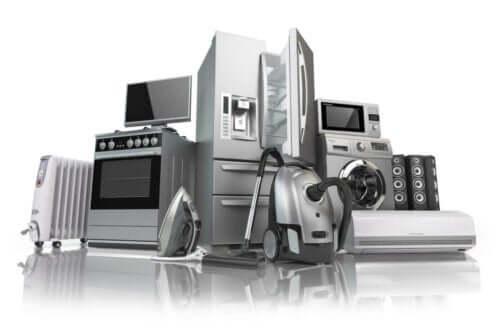forskellige apparater til hjemmet