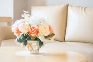 naturlige detaljer i din indretning med blomster
