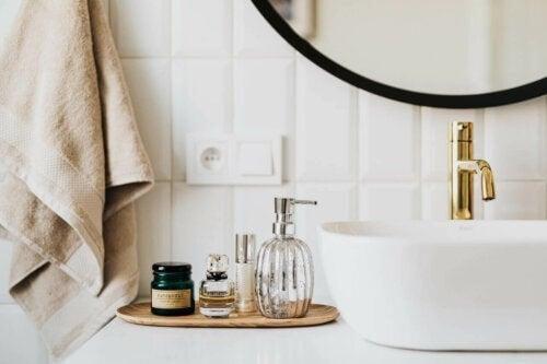 Håndvask med håndsæbe