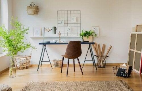 Design dit eget studieområde i hjemmet med vores tips