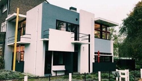 Rietveld Schröder House - Den moderne bevægelse