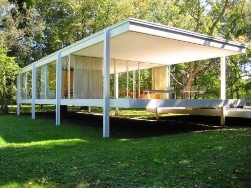 Farnsworth House – en basal og funktionel struktur