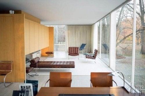 Et minimalistisk og simpelt hjem