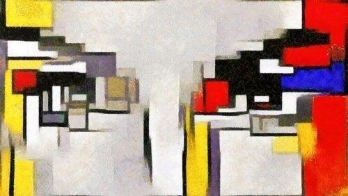Mondrian og hans indflydelse på interiørdesign