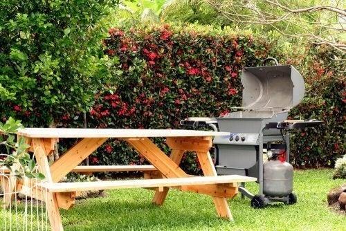 Det perfekte picnicområde til din have