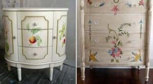 flower power på møbler